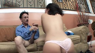 Exciting Stepdad Makes Stepdaughter Skip School - Kristina Rose And 18 Years Old