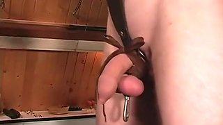 Hottest homemade BDSM, Slave xxx video