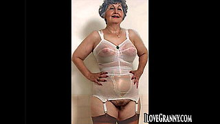 ILoveGrannY Both in Lingerie and Totally Naked