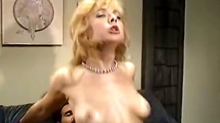 Sassy blonde is fucked in a retro xxx video
