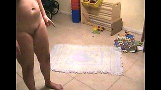 Pussy spank wife