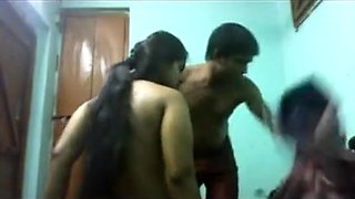 Voluptuous Indian gal gets molested on cam
