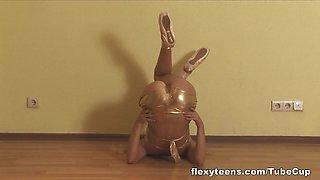 Alla Klassnaja - Gymnastic Video part 2