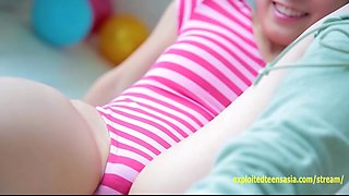 Kotora Mafune Jav Idol Teases With Her One Peace Swimsuit Pulled Tight Between Her Labia
