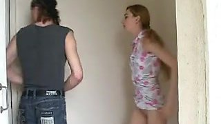 Punk has a innocent gf that can moan out loud, very adorable to lady