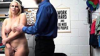 Mike allows Vanessa to suck his cock for her freedom