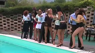 fucking and sucking cocks by the pool