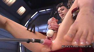 long legged beauty fucking machines