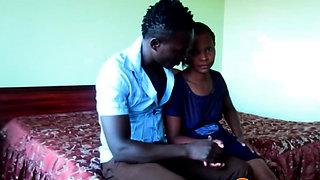 TIKTOK African Amateur Toilet BJ