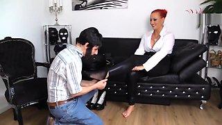At Mistress Feet