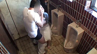 Drunken Girl fucked In A Public Toilet In Japan