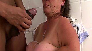 busty mature midget big cock fucked