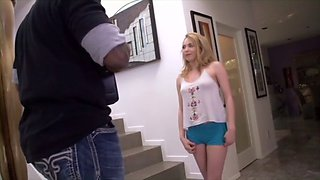 angel smalls punished by big black cock