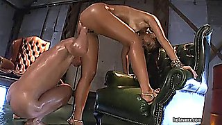 Hard fuck and fisted holes of sexy babe