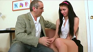 Teen Schoolgirl Fuckes For Good Grades - Angelica