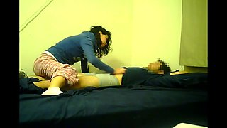 Shy mexican girl first time on cam
