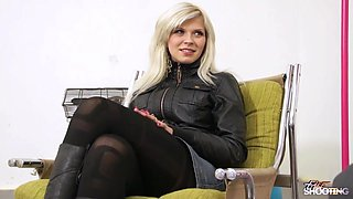 FakeShooting - Busty blonde is ready to fuck very easy