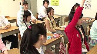 Yui Kasugano, Risa Omomo, Rin Momoi, Marie Konishi in 205X Year Sex Education part 1.1