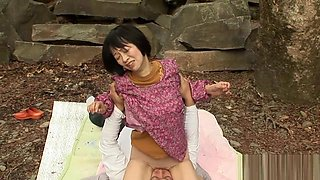 Horny Japanese chick in Exotic Uncensored, Outdoor JAV video