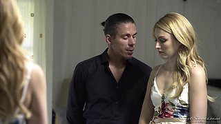 Hot oral sex and brutal banging with Mercedes Carrera and Ramon Nomar