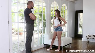 rich spoiled brat punished by bodyguard