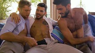 Pol , Vlad , and Nico threesome