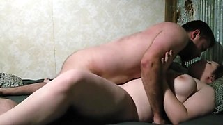 Daddy creampies my tight pussy