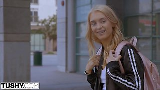 Rebellious Young Babe Teases Her Sugar Daddy - Anastasia Knight And Markus Dupree