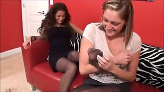 Tickle Abuse - Sweet Black-Nylon Tickling by Tay