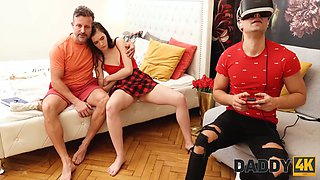 DADDY4K. The player did not see the girl being fucked by her father
