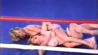 Topless Ring Wrestling Destruction