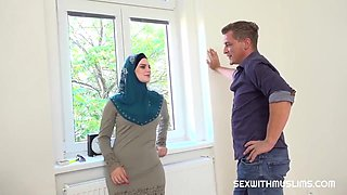 Katarina Rina Muslim Tenant Gets Discount In Exchange For Fuck