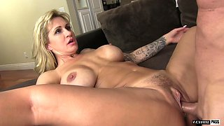 Tattooed beauty Ryan Conner penetrated hard by a lover