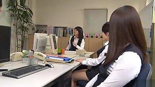Office Lady Pantyhose Femdom And Footjob B