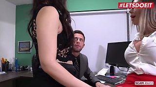 Valentina Nappi, Seth Gamble And Karma Rx In Fuck The Office Boss