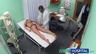 Hidden camera hardcore sex with the doctor