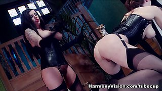 Samantha Bentley & Yuffie Yulan in Used And Abused - HarmonyVision