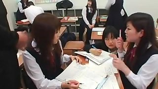 Gokkun School Girls and Family Part 1