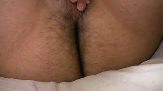 Escobars young nephew strokes his dick sperm