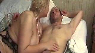Amateur - BiSex - Mature Couple Both Arse Fucked & Cum Share