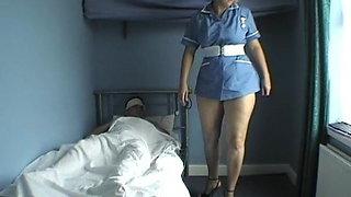 Daniella, English Milf - Nurse Sex