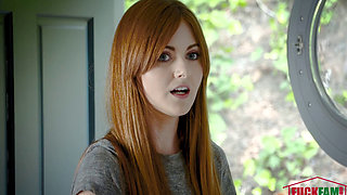 Miley Cole in Caught Red Haired