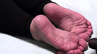 Long Foot Fetish clips at great Amateur Trampling collection