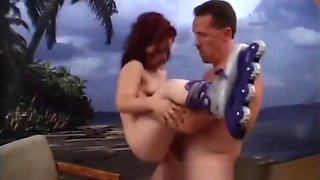 Fucking a Hot Redhead Midget on a Tropical Island