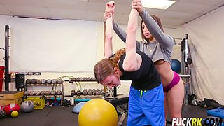 abella danger her best workout ever
