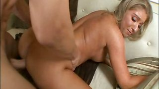 Jaylyn Fox gets her tight twat brutaly fucked with monster