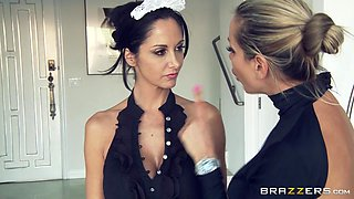 Big Tits In Uniform: Maid For Fucking. Ava Addams, Johnny Sins