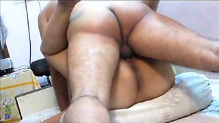 Indian aunty cunt pumped deep by lover