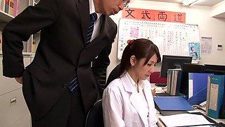 Misa Yuuki in Health Teacher 02 part 1