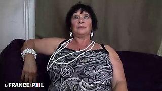 French Big Tits BBW Granny